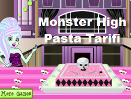 Monster High Pasta Tarifi