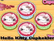 Hello Kitty Cupkekler